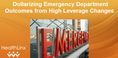 Dollarizing Emergency Department Outcomes