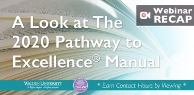 A Look at the 2020 Pathway to Excellence® Manual