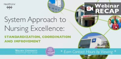 System Approach to Nursing Excellence: Standardization, Coordination & Improvement